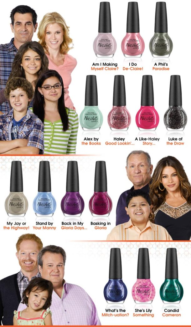 Modern Family by Nicole by OPI