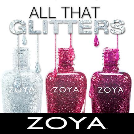 Zoya Glitters trio
