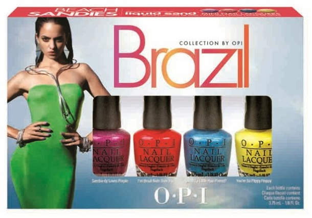Brazil Collection By OPI Liquid Sand
