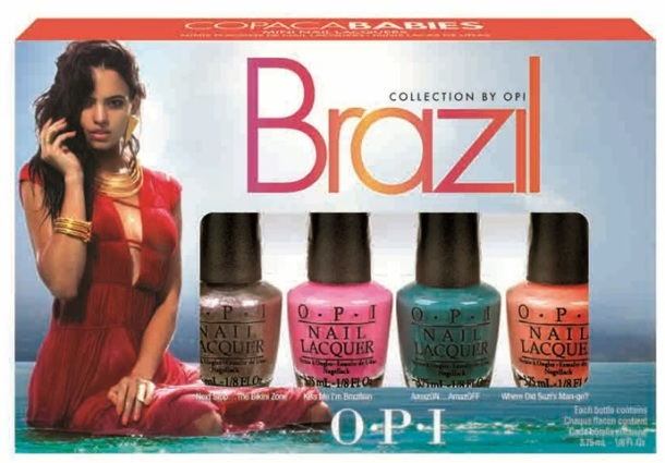 Brazil Collection By OPI Minis