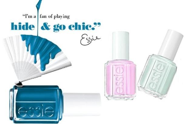 Essie Hide & Go Chic fan