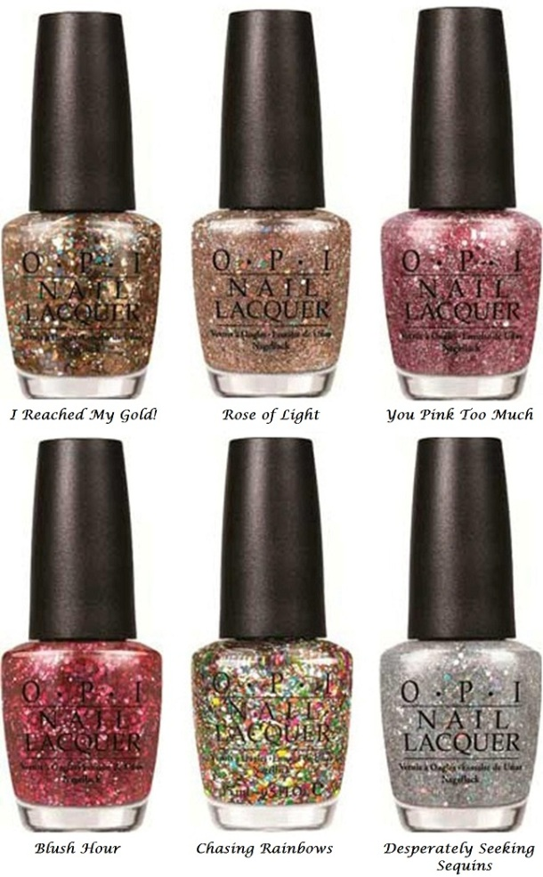 opi-spotlight-on-glitter-collection bottles