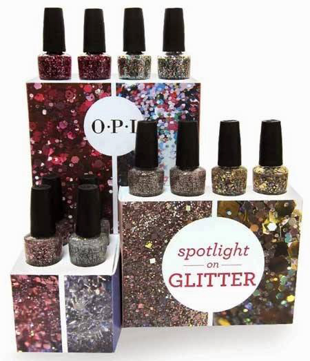 OPI-Spotlight-On-Glitter display