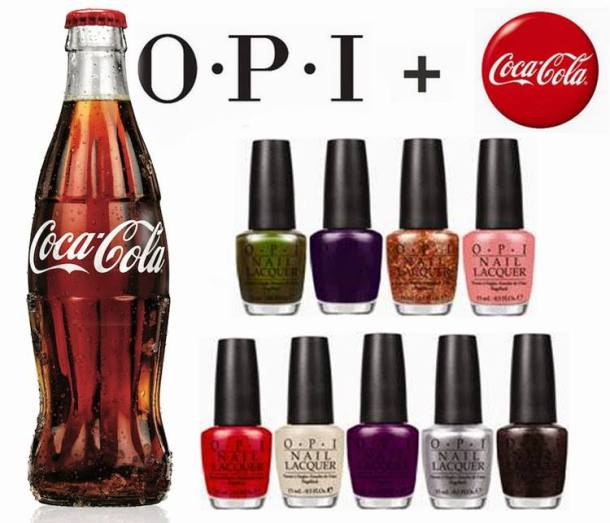 OPI Coca-Cola Collection  updateOpi Coca Cola