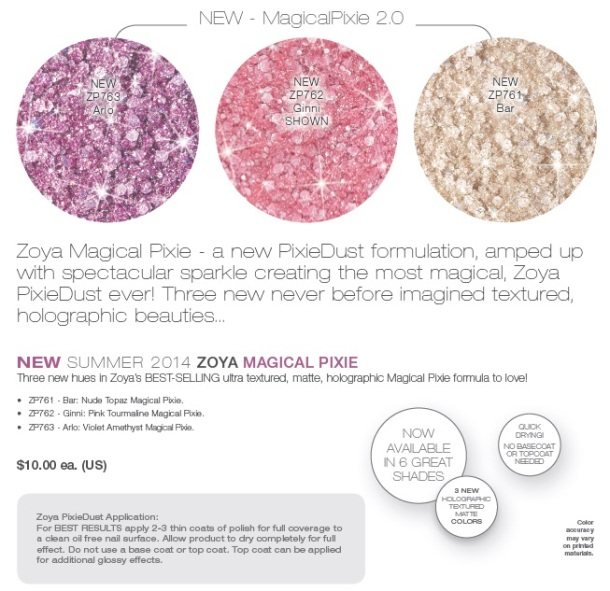 Zoya Magical Pixie summer14b