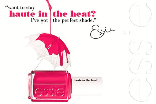 Essie summer 2014 haute in the heat banner