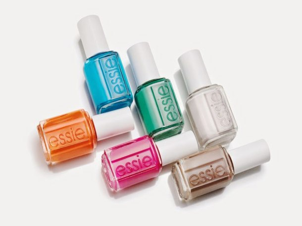 Essie summer 2014 haute in the heat bottles