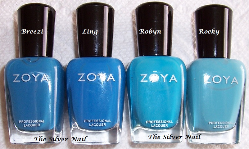 Tomorrow  the golds peaches  oranges  darker pink cremes  and greens Zoya Robyn Vs Rocky