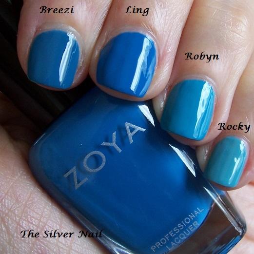 Zoya comparison-fest  againZoya Robyn
