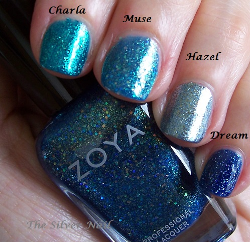 Zoya comps CMHD swatches
