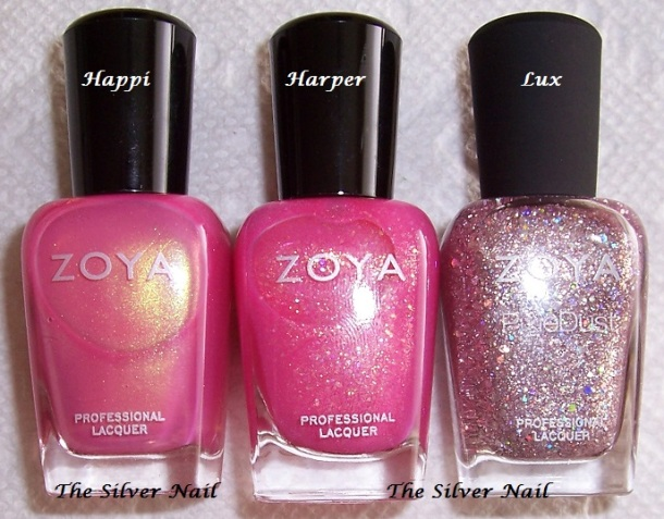 Zoya comps HHL bottles