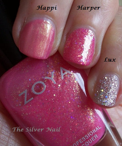 Zoya comps HHL swatches