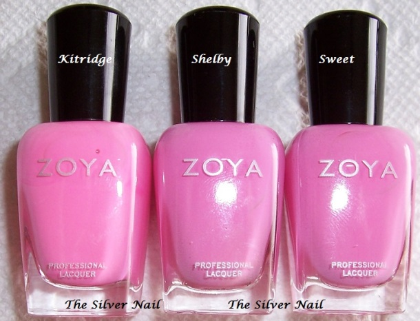 Zoya comps KSS bottles