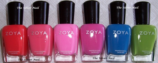 Zoya Tickled bottles