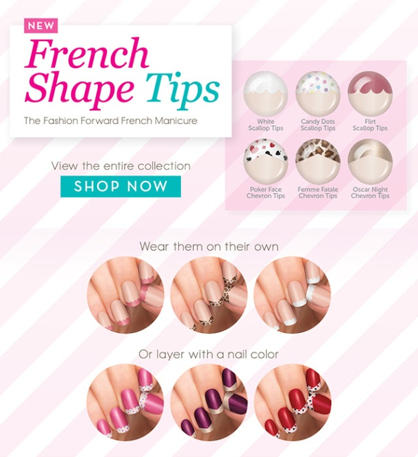 Incoco French Tip shapes
