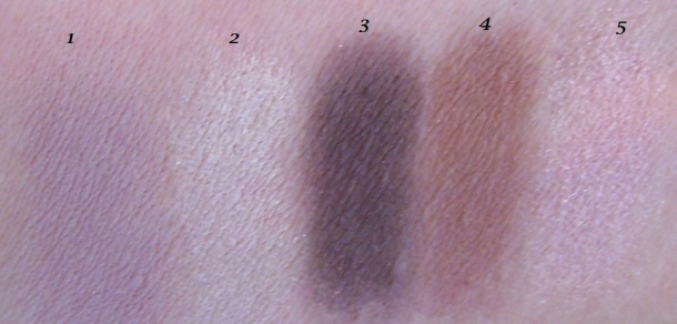 WnW melrose night swatches
