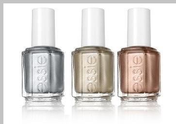 Essie 3 metallics