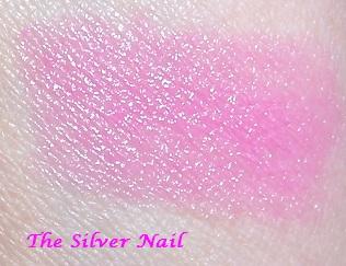 Pinkaholic lip swatch