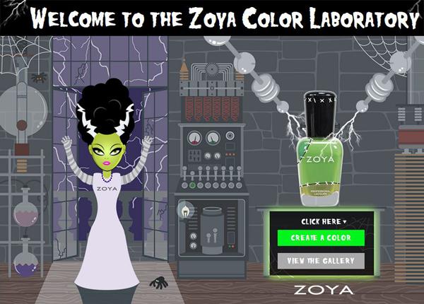 Zoya Halloween2