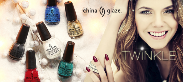 China Glaze Twinkle holiday set
