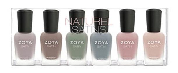 Naturel Satins sampler