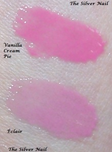 Nyx butter glosses swatch flash