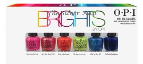 OPI Brights 2015 mini set