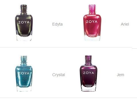 Zoya wish list