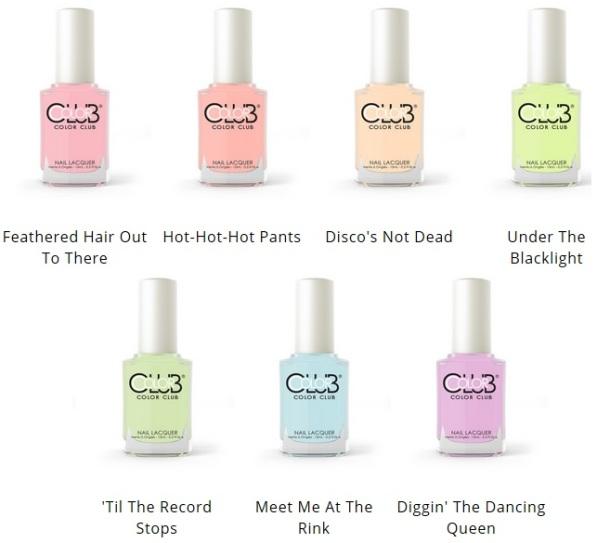 CC poptastic pastel bottles