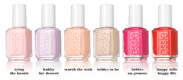 Essie bridal 2015 bottles