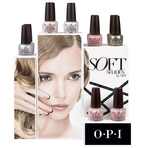 OPI soft shades 2015 display