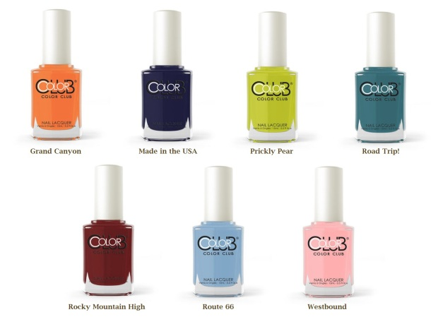 Color Club Desert Valley bottles