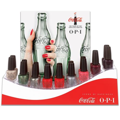 OPI Coke 100 display