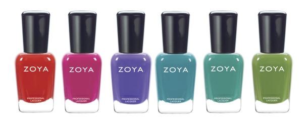 Zoya summer 2015 cremes bottles
