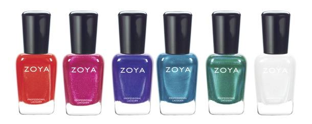 Zoya summer 2015 shimmers bottles