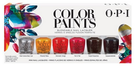 OPI color paints mini set