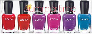 Zoya Summertime set 2011