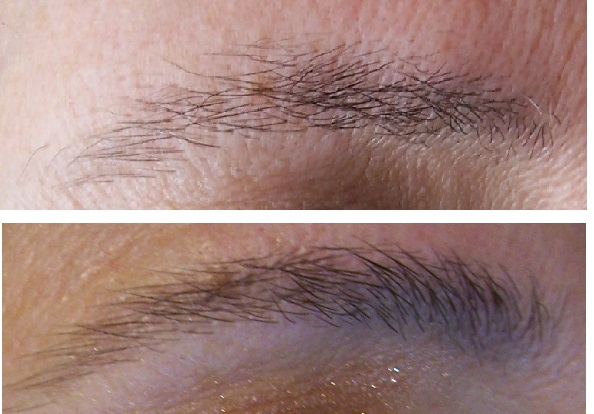 eyebrow comparison