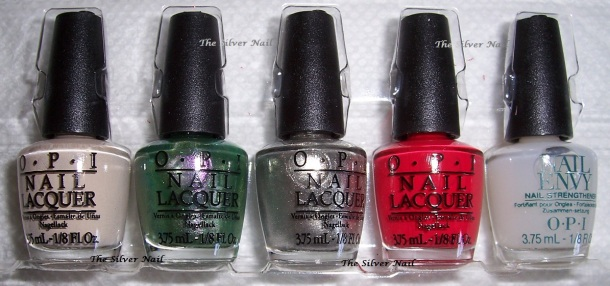 OPI 100 first row