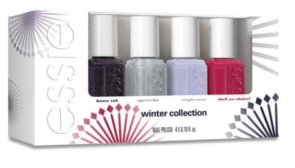 Essie Virgin Snow minis