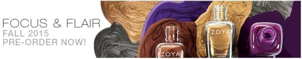 Zoya Focus & Flair banner