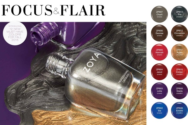 Zoya Focus & Flair fall 2015