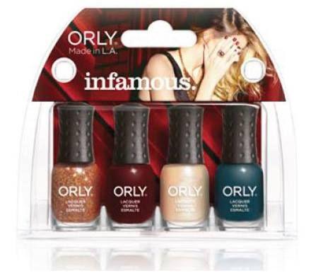 Orly-Infamous mini set