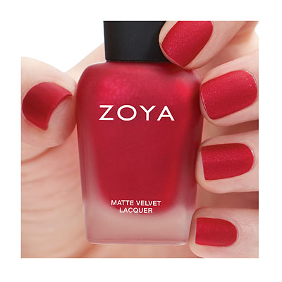 Zoya winter mattes Amal