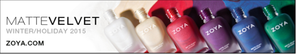 Zoya winter mattes banner