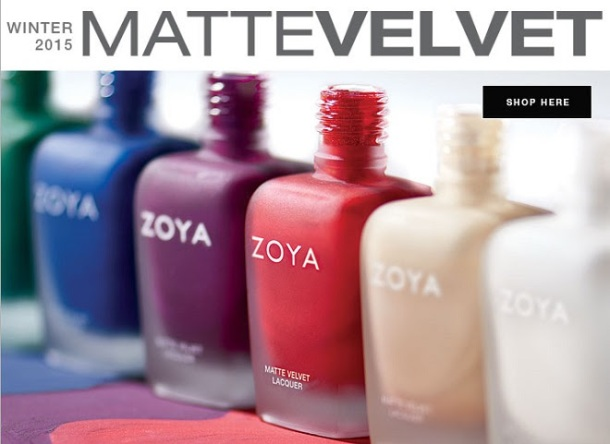Zoya winter mattes