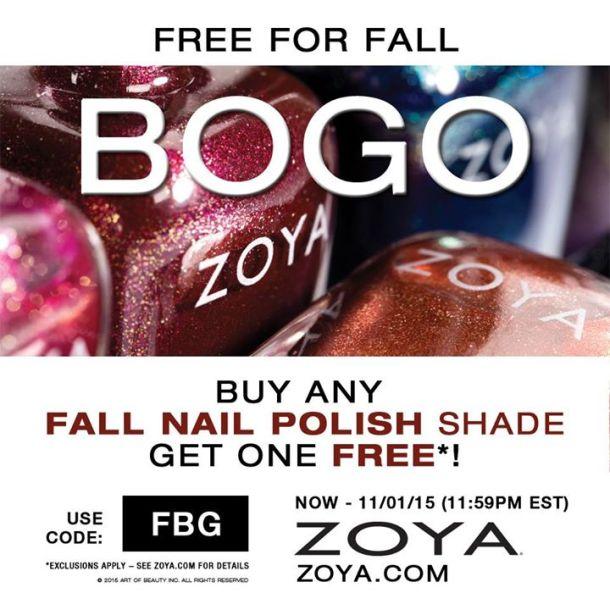 Zoya free fall