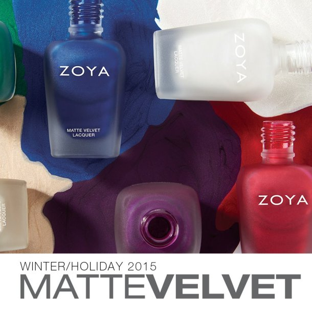 Zoya matte velvets 15 bottles