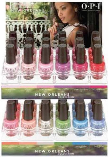 OPI new orleans display