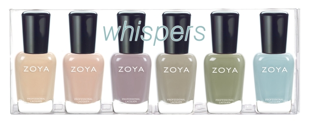 Zoya Whispers sampler